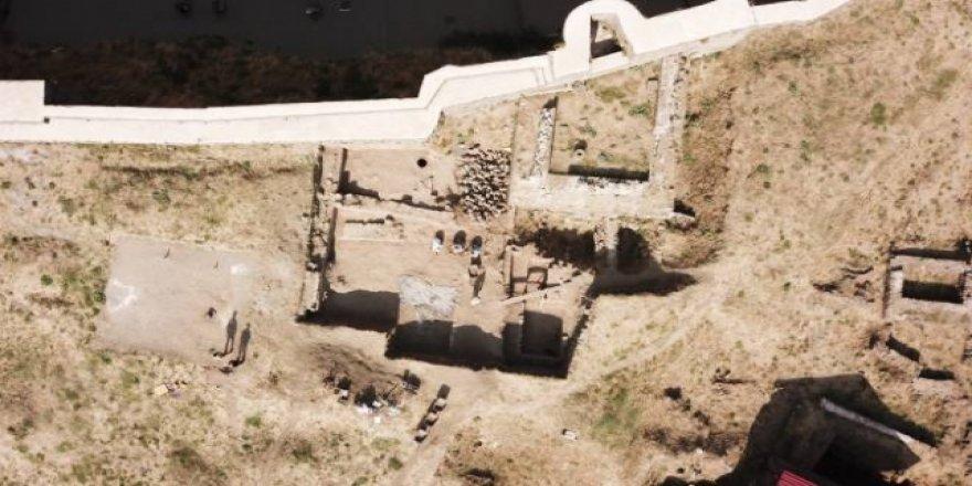Bitlis Kalesi'nde Bizans ve Osmanlıya ait bulgular bulundu