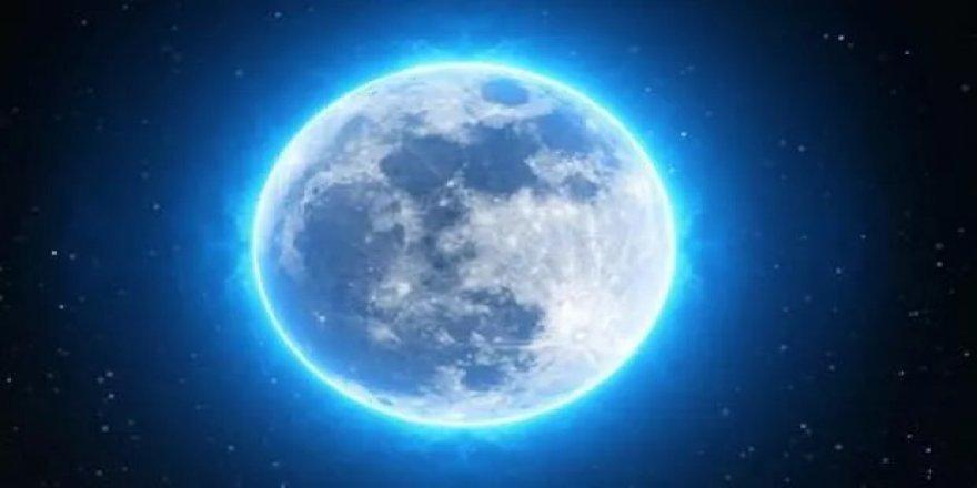 31 Ekim'de nadir görülen Mavi dolunay gerçekleşecek