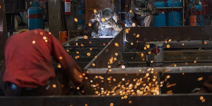 Sanayi üretim endeksi yüzde 16,6 yükseldi