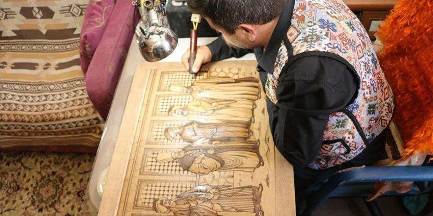Ispartalı deri işleme ustası Türk el sanatını yaşatmaya çalışıyor