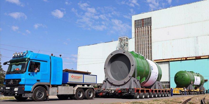 Akkuyu NGS için üretilen reaktör basınç kabı Türkiye'ye gönderildi