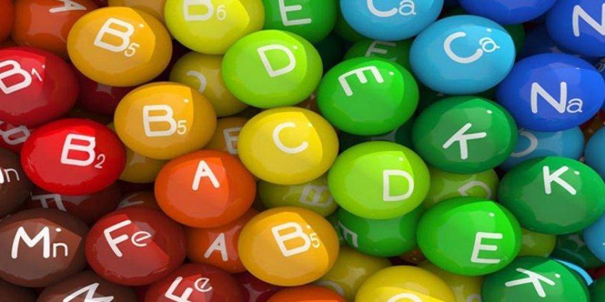 Vücutta vitamin eksikliğini gösteren işaretler ve çaresi
