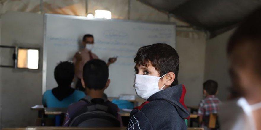 İdlib'de okullar yüzyüze eğitime açıldı