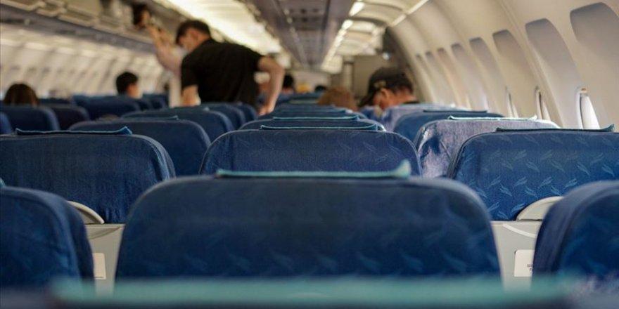 Hava yolu yolcu trafiği 2020'de Kovid-19 nedeniyle yüzde 66 azalacak