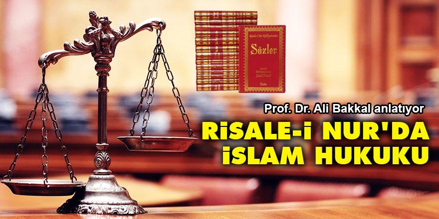 Risale-i Nur'da İslam Hukuku