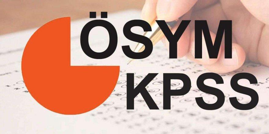 2021 KPSS merkezi yerleştirme takvimi açıklandı