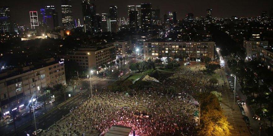 İsrailliler Netanyahu karşıtı protestolarını 30 haftadır sürdürüyor
