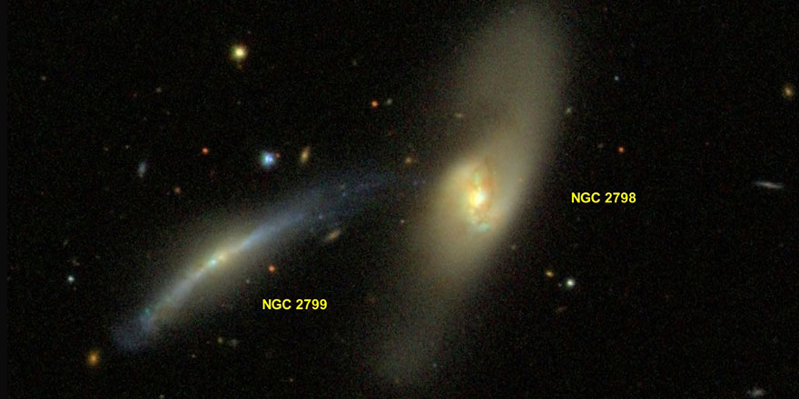 Milyarlarca yıl süren iki galaksinin birleşmesi görüntülendi