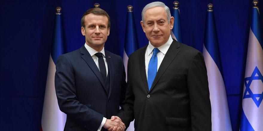 İşgalci İsrail'den, Fransa'nın İslam karşıtı tutumuna destek