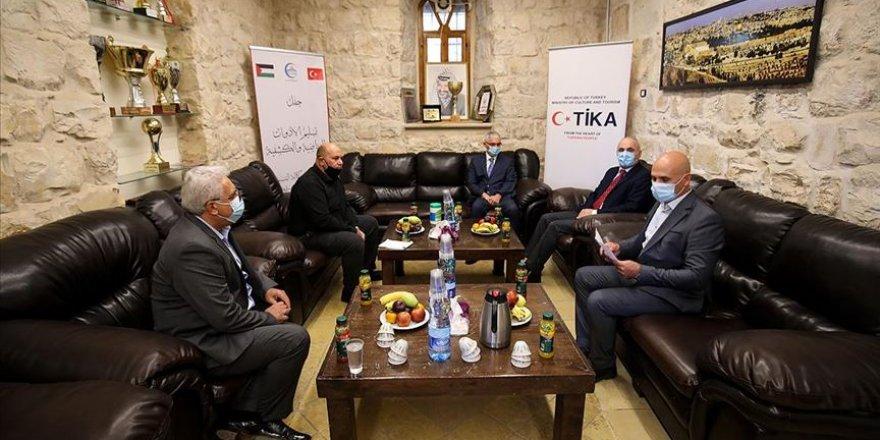 TİKA'dan Doğu Kudüs'teki Filistin kurumlarına destek