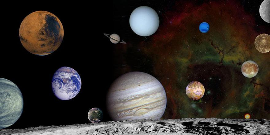 Bu hafta Dünyadan Güneş Sistemi'ndeki 7 gezegen birden görülecek