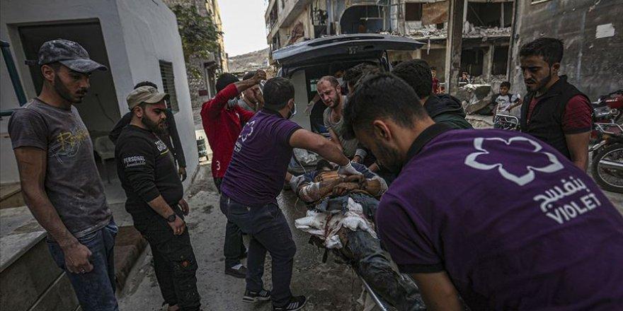 Esed rejimi ve destekçilerinin İdlib'e saldırılarında son 1 ayda 25 sivil hayatını kaybetti