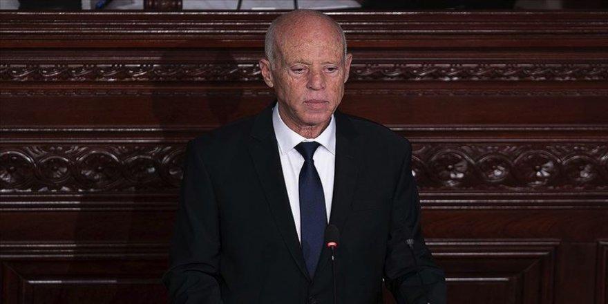 Tunus Cumhurbaşkanı Said: İsrail ile normalleşme ifadesine karşıyım