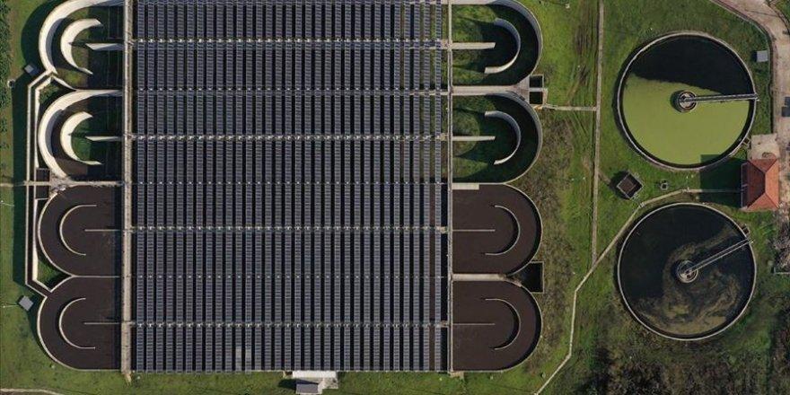 Güneş enerjisi sistemine sahip arıtma tesisi yılda 1 milyon lira tasarruf ediyor