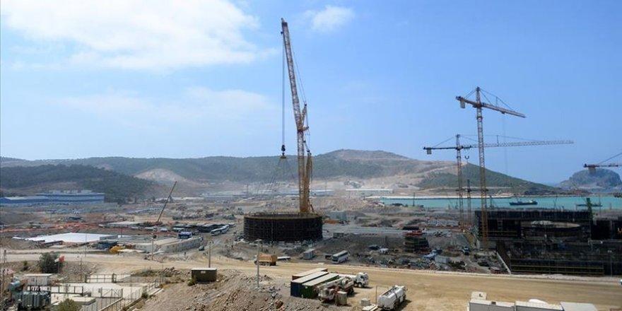 Akkuyu nükleer santrali'nin üçüncü reaktörün temeli 10 Mart'ta atılıyor