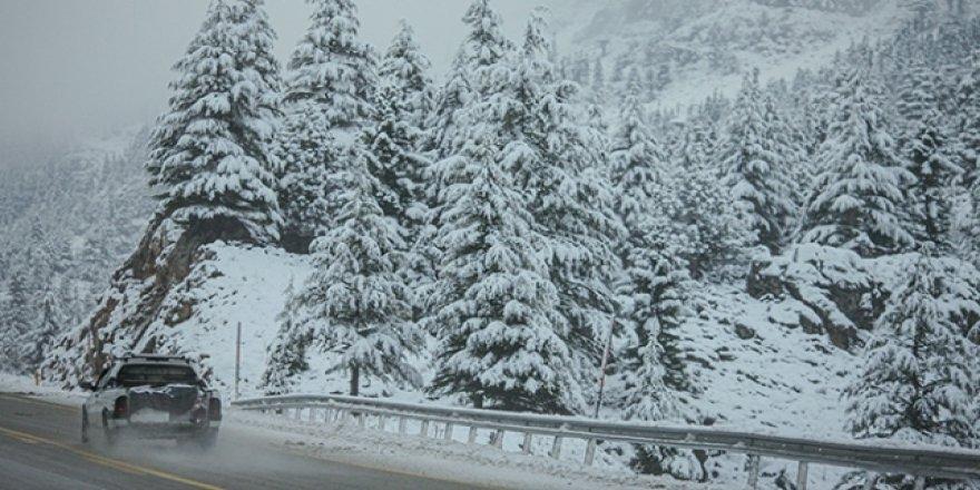 Meteorolojiden kar, sis ve sağanak uyarısı