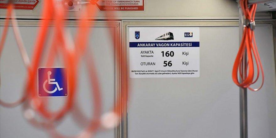 Başkentte toplu ulaşıma Kovid-19 düzenlemesi