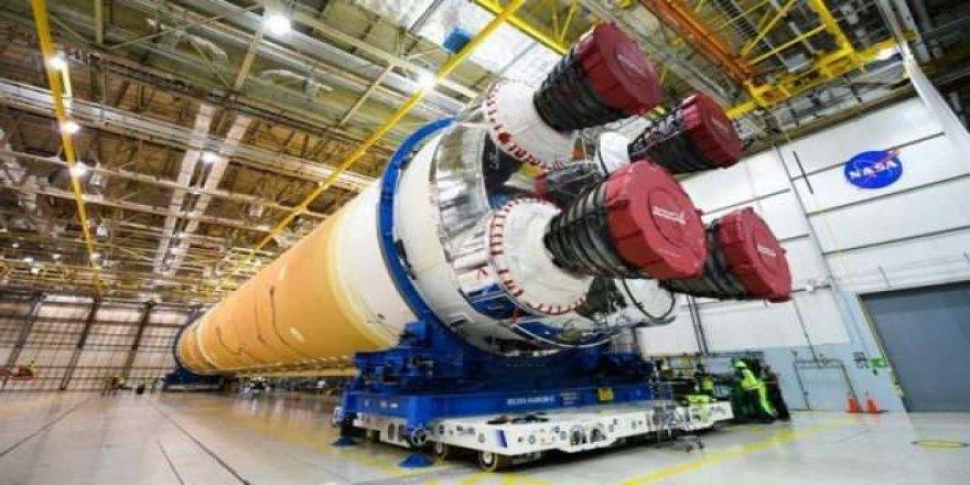 İnsanoğlunu Mars'a götürecek roketin yapımı başladı