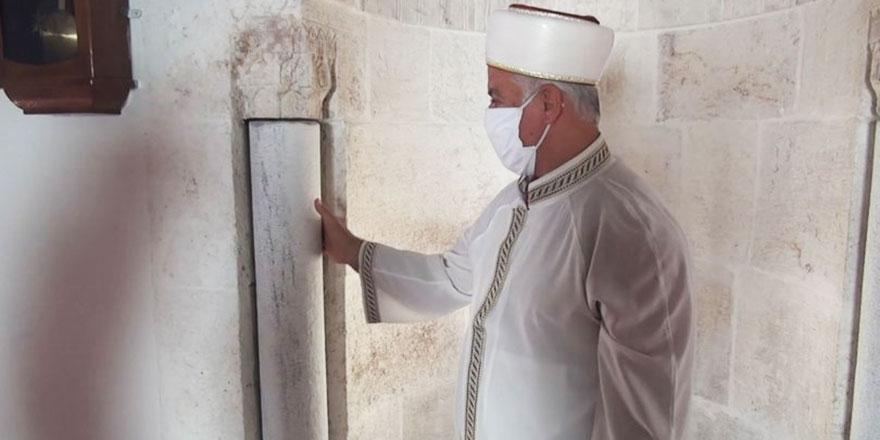 Mahremiye Camii'nde deprem terazisi asırlardır dönüyor