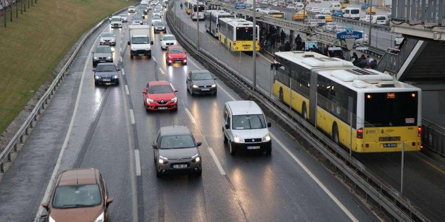 İstanbul'da ekim ayında toplu taşıma kullanımı yüzde 8,3 arttı
