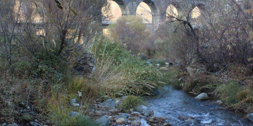 """Doğa güzelliği ve tarihî köprüleri ile keşfedilmeyi bekleyen """"Teke Deresi"""""""