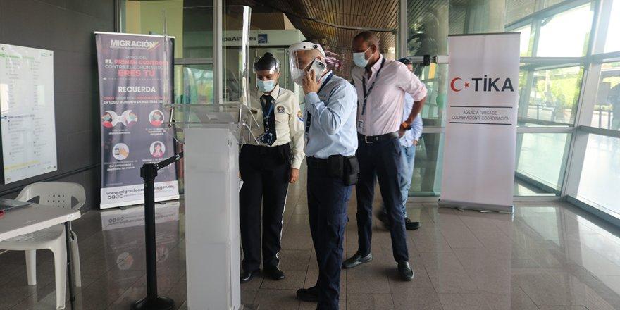 TİKA'dan Kolombiya'daki uluslararası havaalanına, termal kamera sistemi desteği