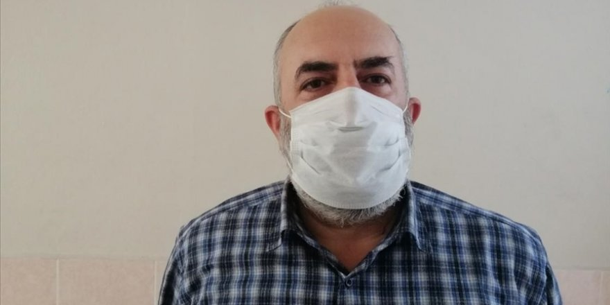Kovid-19'dan bir ayda 4 yakınını kaybeden imamdan 'maske, mesafe, temizlik' çağrısı