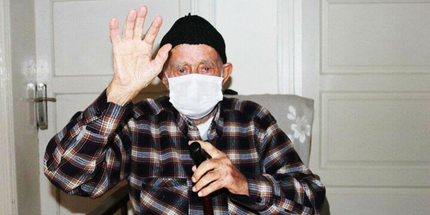 95 yaşında koronavirüsten şifa buldu: Cenab-ı Allah'ım kurtardı beni
