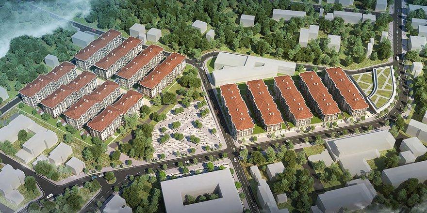 TOKİ'nin Arnavutluk'ta inşa edeceği 522 konutun temeli atılıyor
