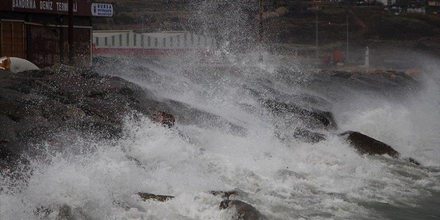 Marmara Bölgesi ve Kuzey Ege'de fırtına bekleniyor