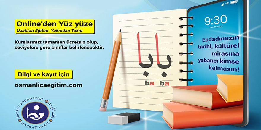 Osmanlıca kursları uzaktan eğitimle başlıyor