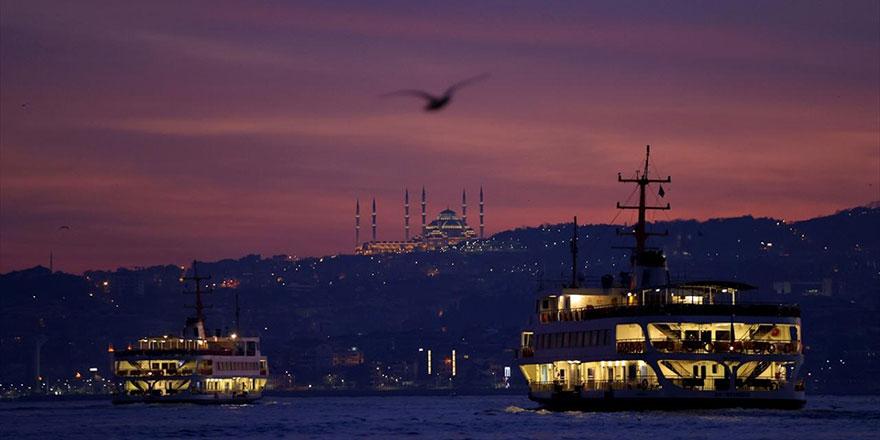 İstanbul'da gün doğumu-3 Ocak 2021