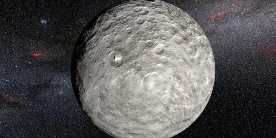 Cüce gezegen Ceres'te yaşam alanı kurulabileceğini düşünüyoruz