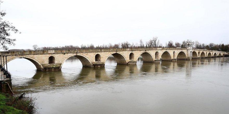 Tunca'da su seviyesi düşüyor Meriç'te yükseliyor
