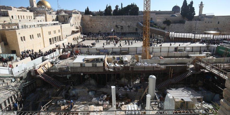 Filistin Mescid-i Aksa çevresindeki İsrail kazılarının durdurulması için BM'ye çağrı yaptı