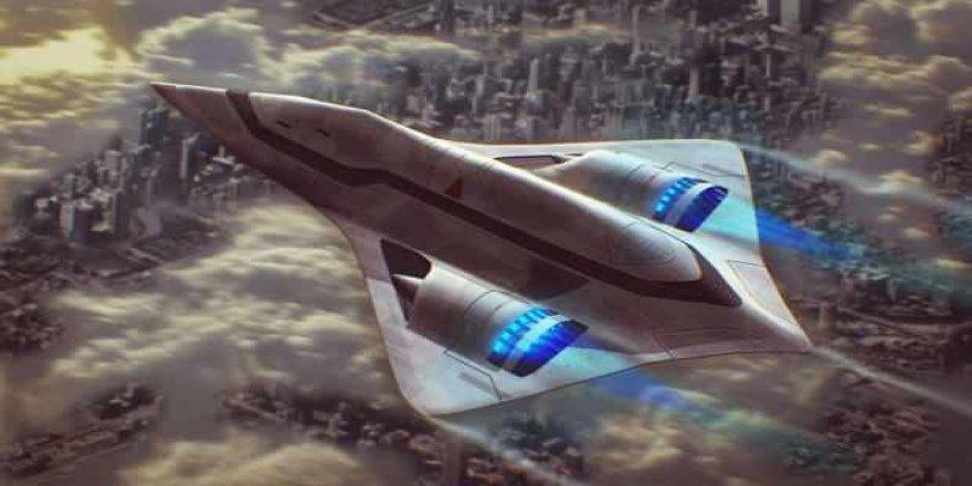 Nükleer enerjiyle çalışan uçak Jüpiter'i keşfedecek