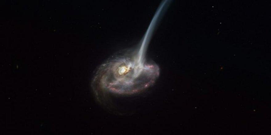 Bu galaksinin ölümü 10 milyonlarca yıl sürecek