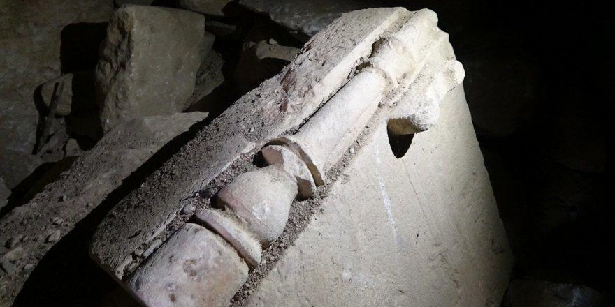 2500 yıllık mezar oda gizemini koruyor