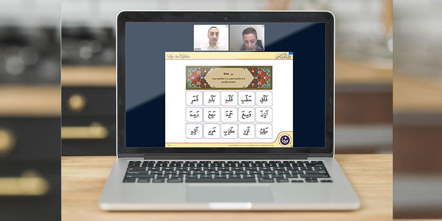 Hayrat Vakfı'nın birebir online Kur'an-ı Kerim dersleri başladı