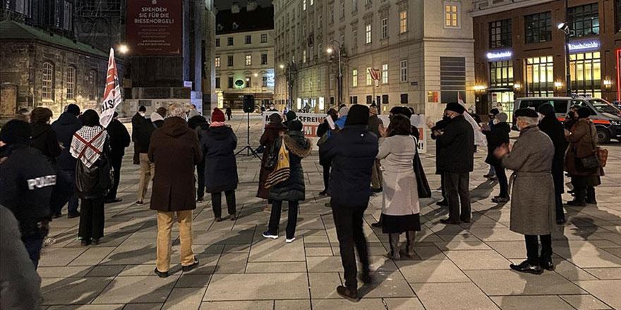 Avusturya'da STK ve dini cemaat temsilerinden Müslümanlara destek