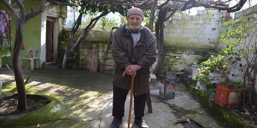 Aydın'da 96 yaşındaki Kovid-19 hastası sağlığına kavuştu