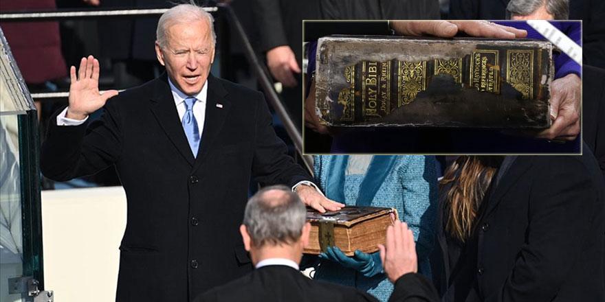 ABD Başkanlık yemin töreni dini sembollerle dolu