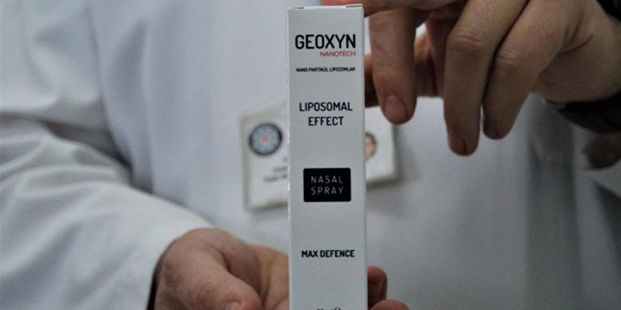 Devlet Hastanesindeki doktor, koronavirüsü öldüren sprey geliştirdi
