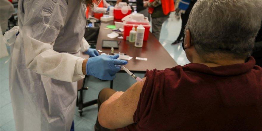 ABD'de Kovid-19 aşısı yapılan beyazların oranı, siyahi ve Latinlerin iki katı