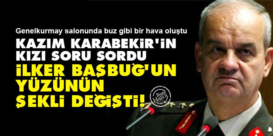 Kazım Karabekir'in kızı soru sordu İlker Başbuğ'un yüzünün şekli değişti!