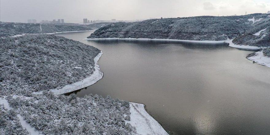 İstanbul'un barajlarındaki su seviyesi yüzde 36,96'ya yükseldi