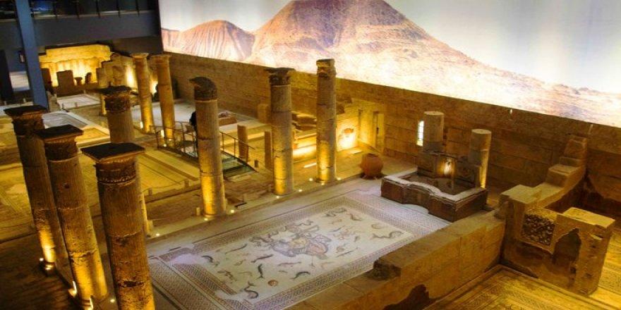 Zeugma Mozaik Müzesi'ni geçen yıl sanal ortamda 1 milyon kişi ziyaret etti