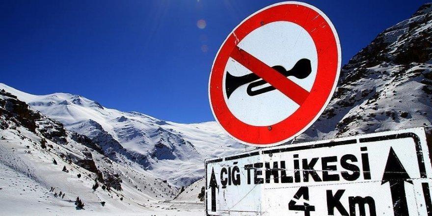 Doğu Anadolu'da 4 il için çığ, buzlanma ve don uyarısı