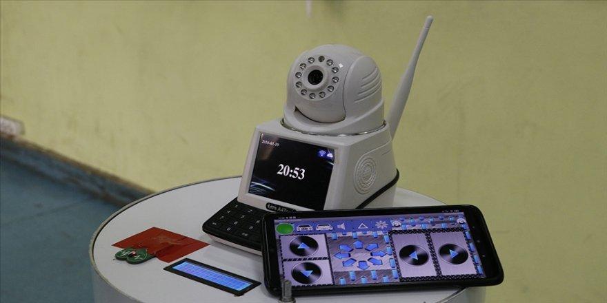 Robot 'Göbeklitepe' nabzı ve kandaki oksijeni ölçerek sağlık çalışanlarına destek olacak
