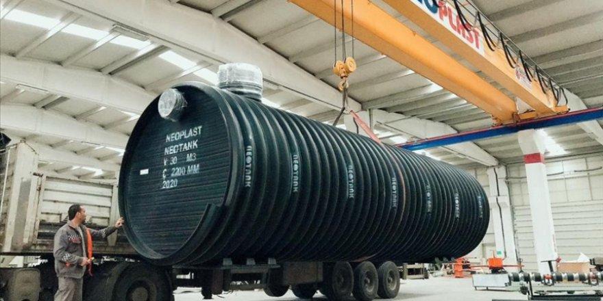 Ankaralı firma geliştirdiği 'yağmur suyu hasat sistemi' ile ihracata başladı